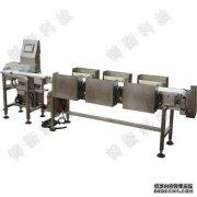 食品行业用的不锈钢多级重量选别机